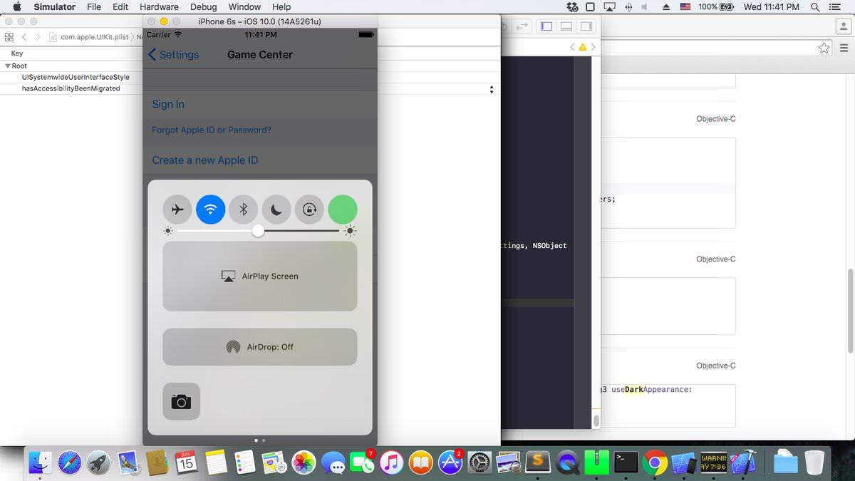 iOS 10 Control Center Cellurar 2