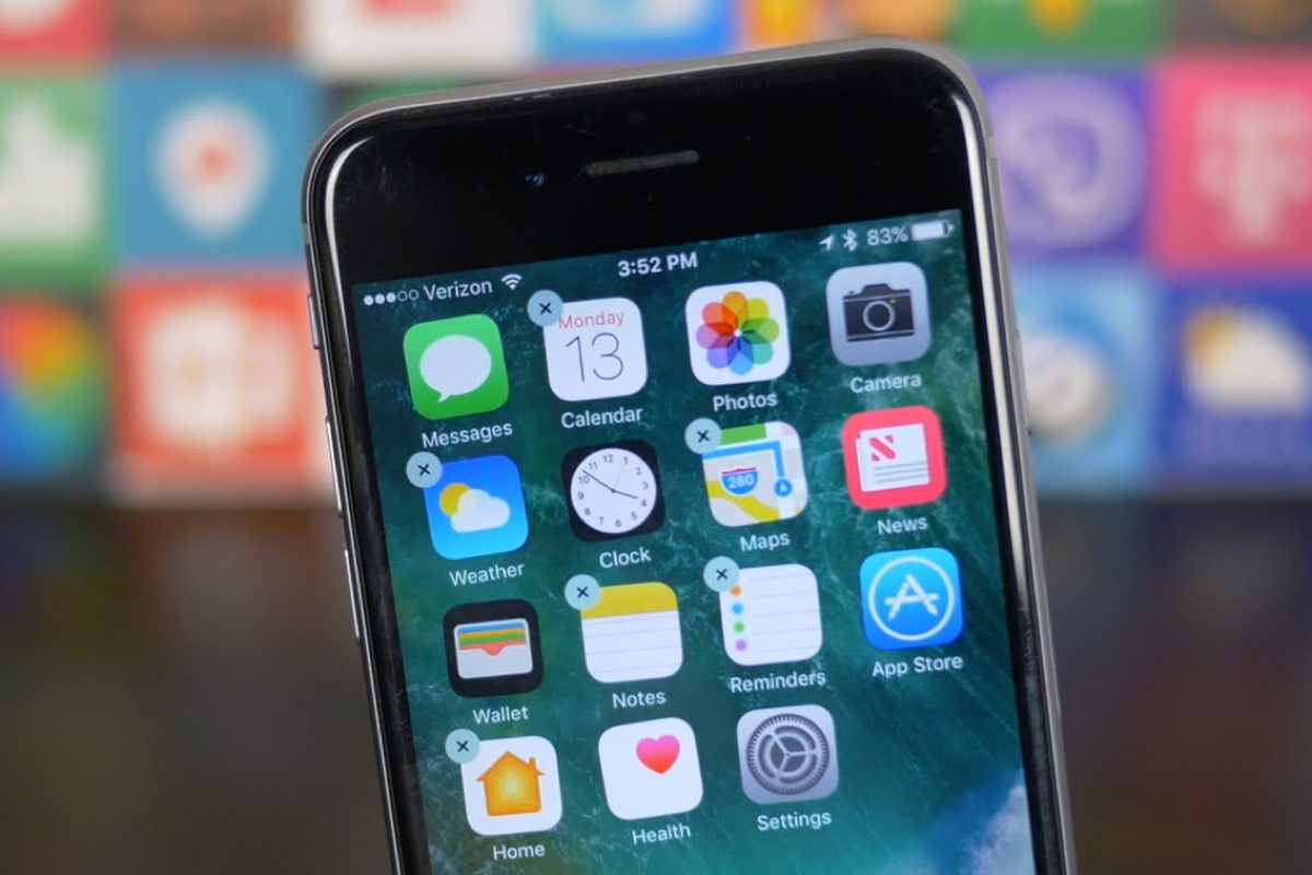 Удаление приложений с iPhone и iPad на iOS 10 оказалось неполноценным