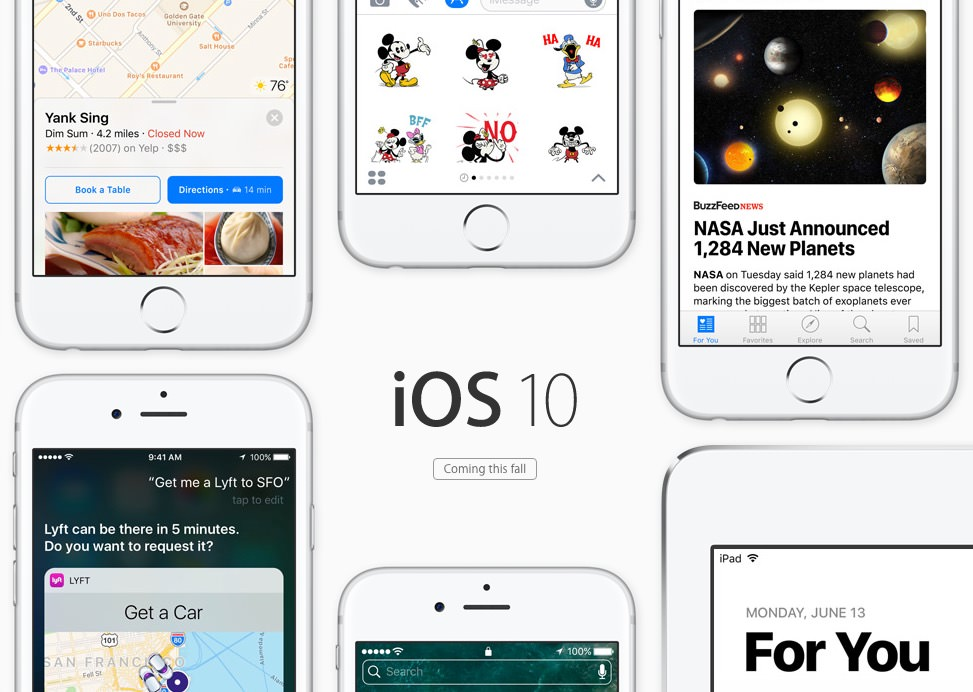 iOS 10 download beta 1