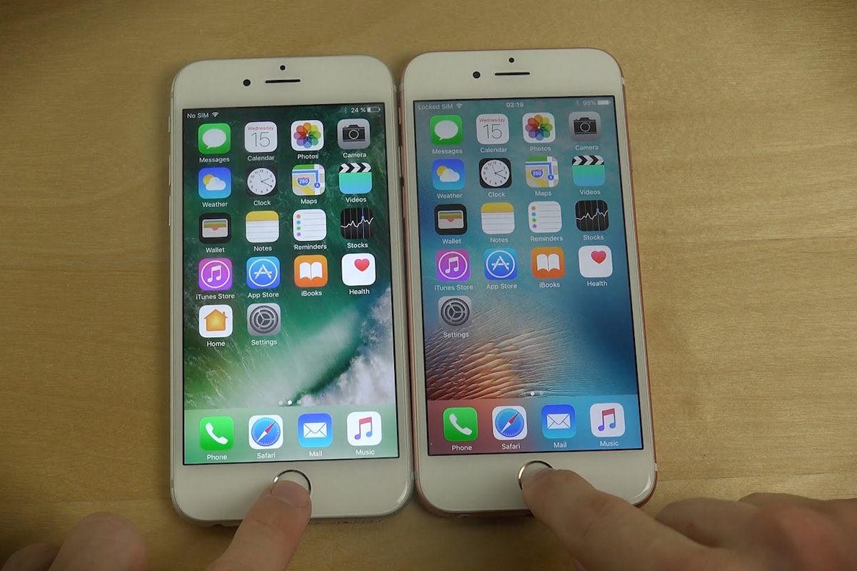 Apple iOS 10 beta 3 vs iOS 9.3.3 3