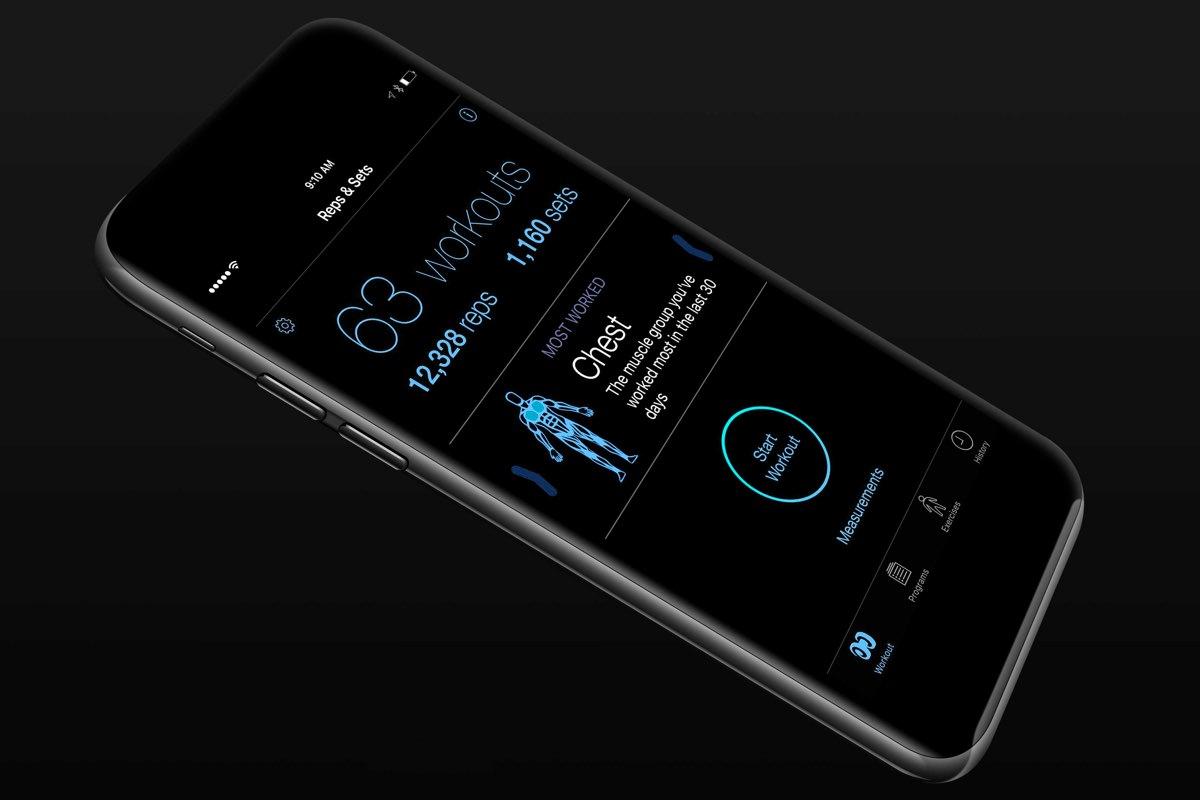 Apple iPhone 7 Black iOS 10 Dark Mode 0