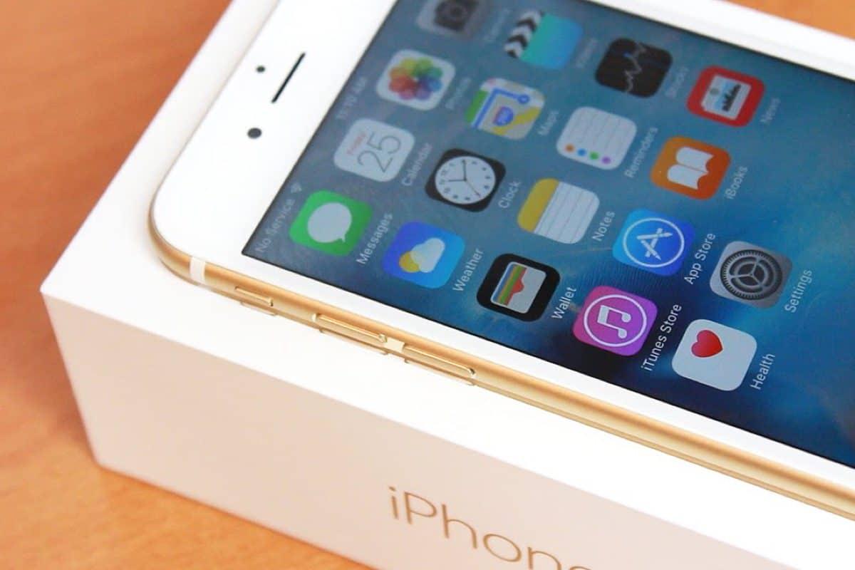 Золотой iPhone 7 запечатлен на фото