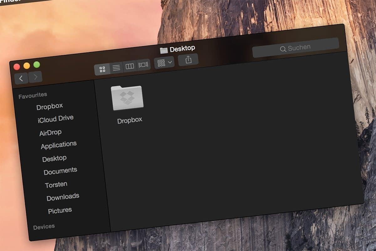 Dark Mode macOS Sierra 4