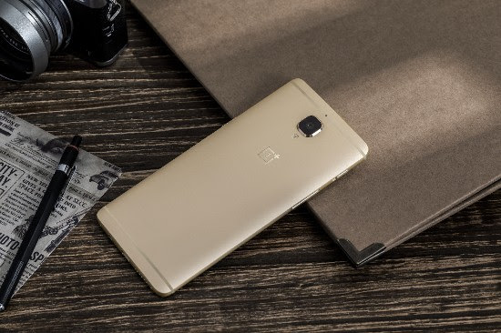 OnePlus 3 Soft Gold 1