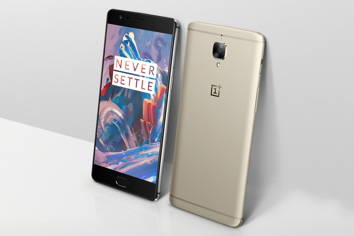 OnePlus 3 Soft Gold 2