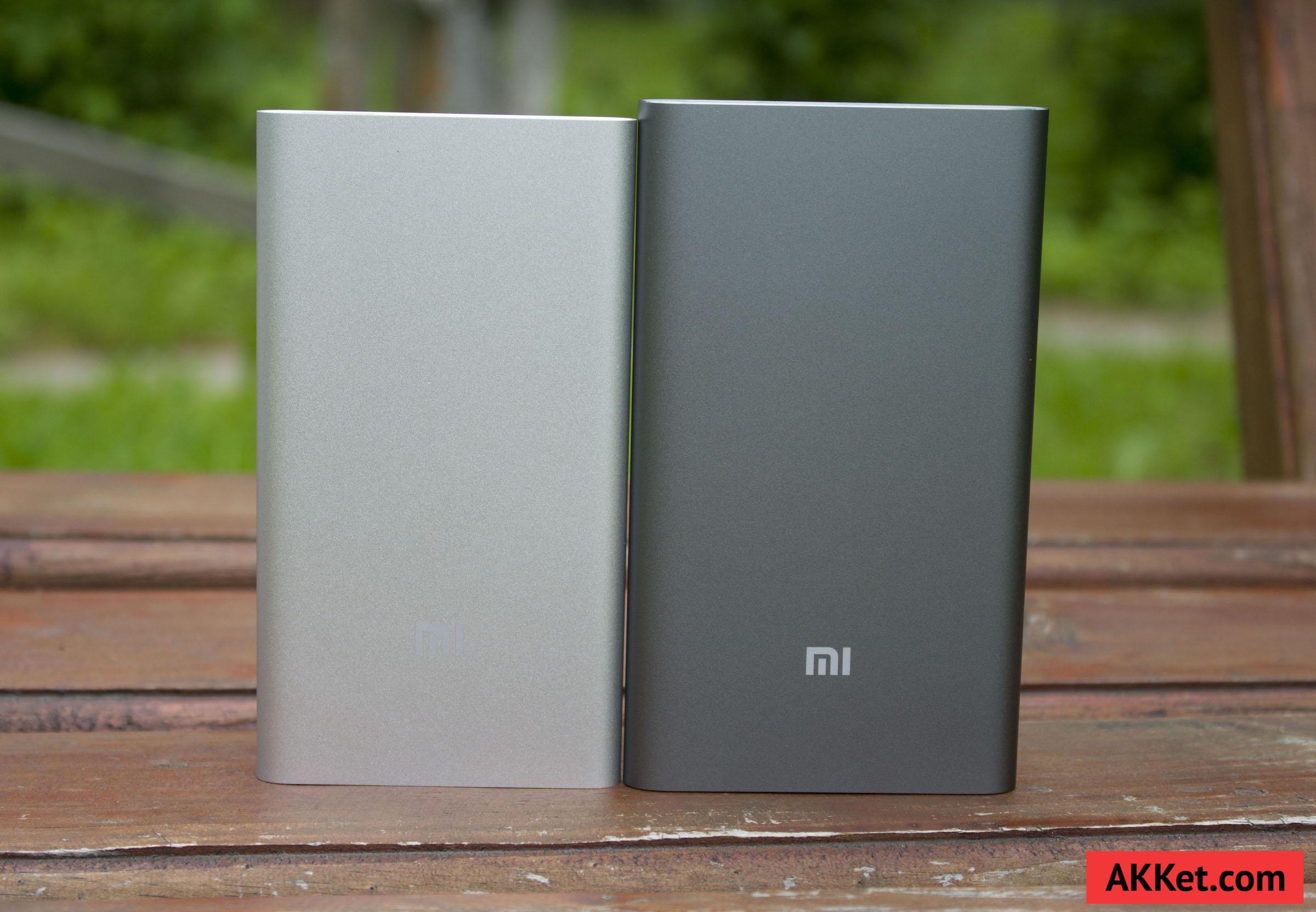 Xiaomi Mi Power Bank Pro 10000 мАч и Xiaomi Mi Power Bank 5000 мАч 5