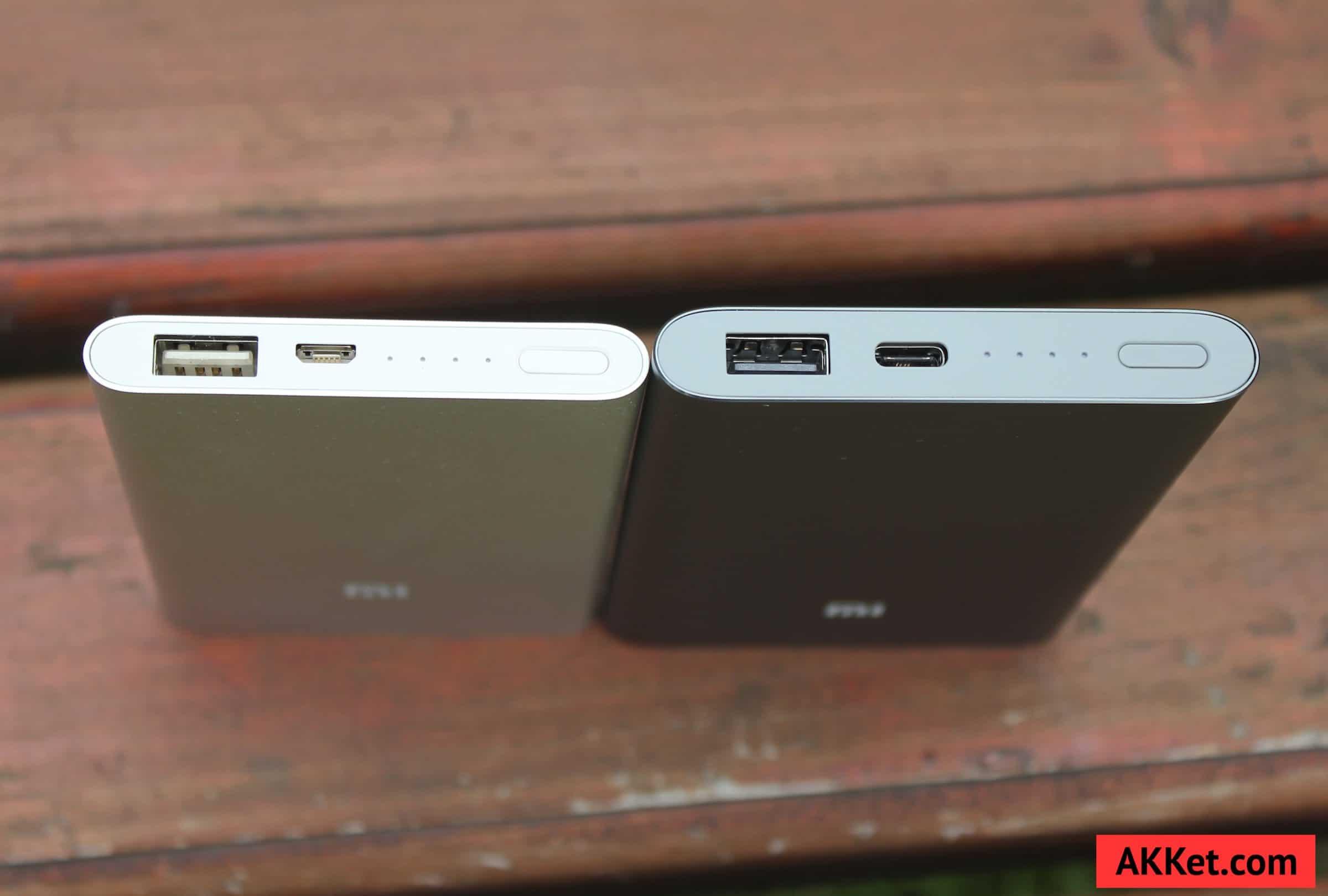 Xiaomi Mi Power Bank Pro 10000 мАч и Xiaomi Mi Power Bank 5000 мАч 6