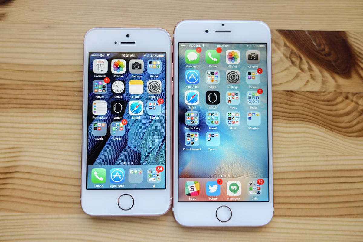 Apple iPhone 7 Samsung Galaxy Note 7 4