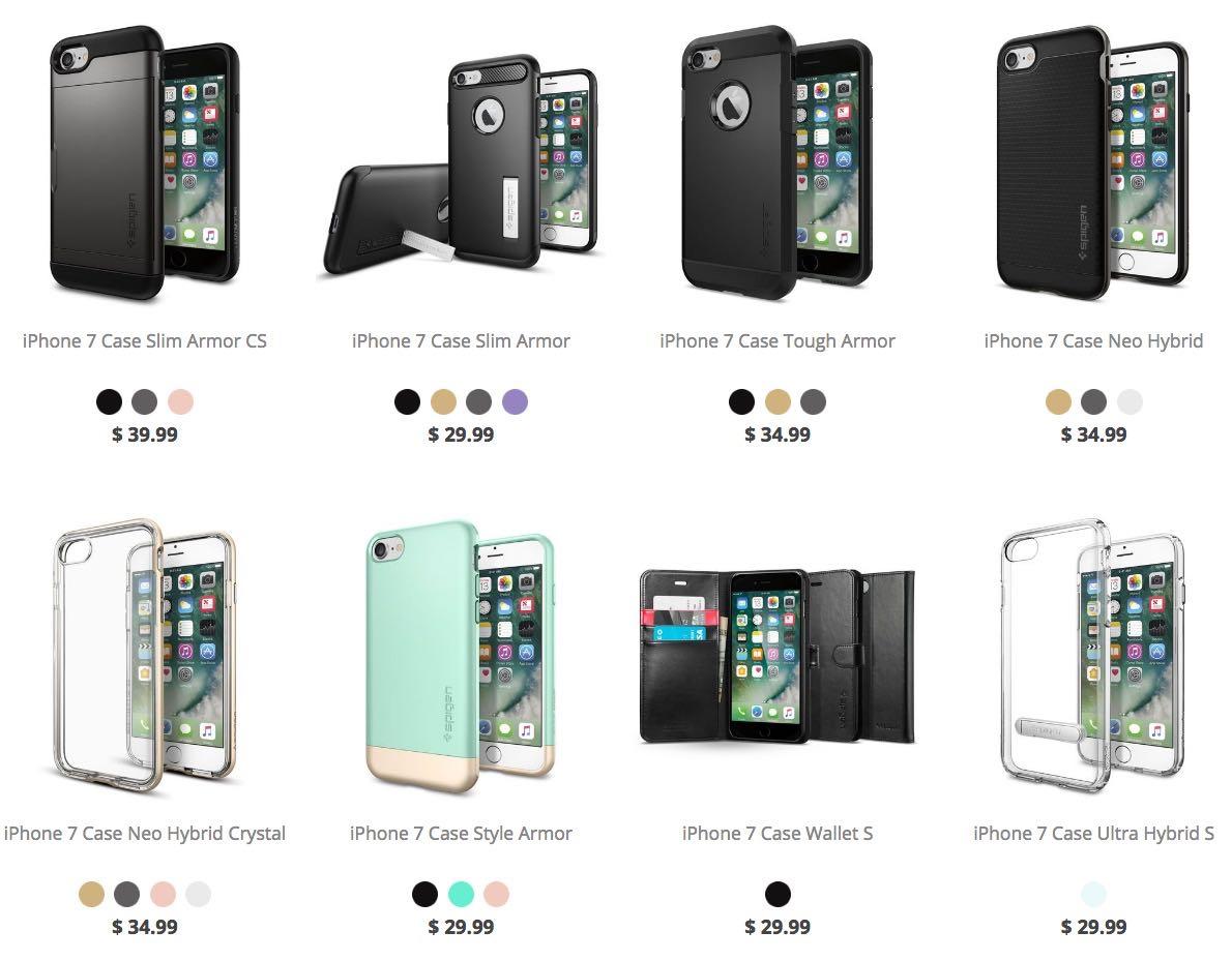 Apple iPhone 7 Spigen