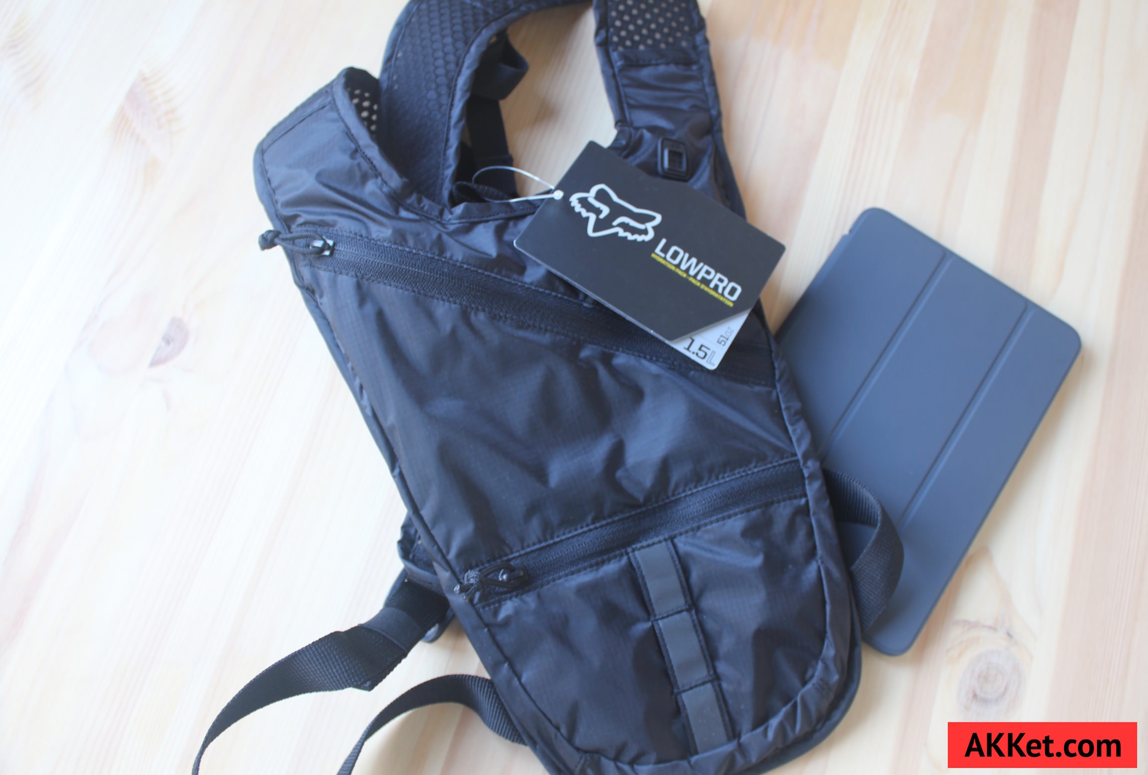 Fox Low Pro backpack iPad mini iPhone 1