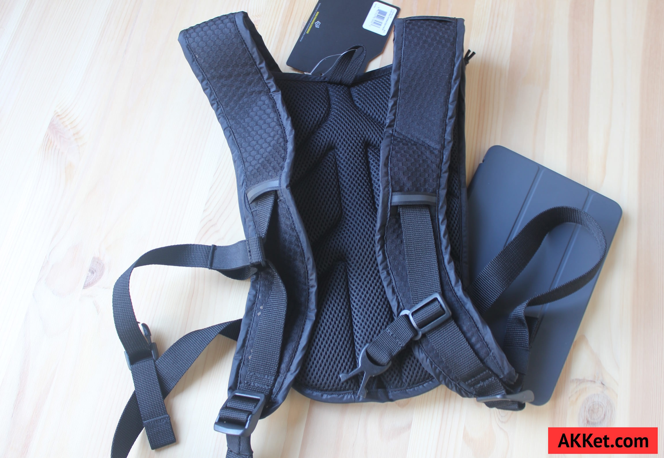 Fox Low Pro backpack iPad mini iPhone 2