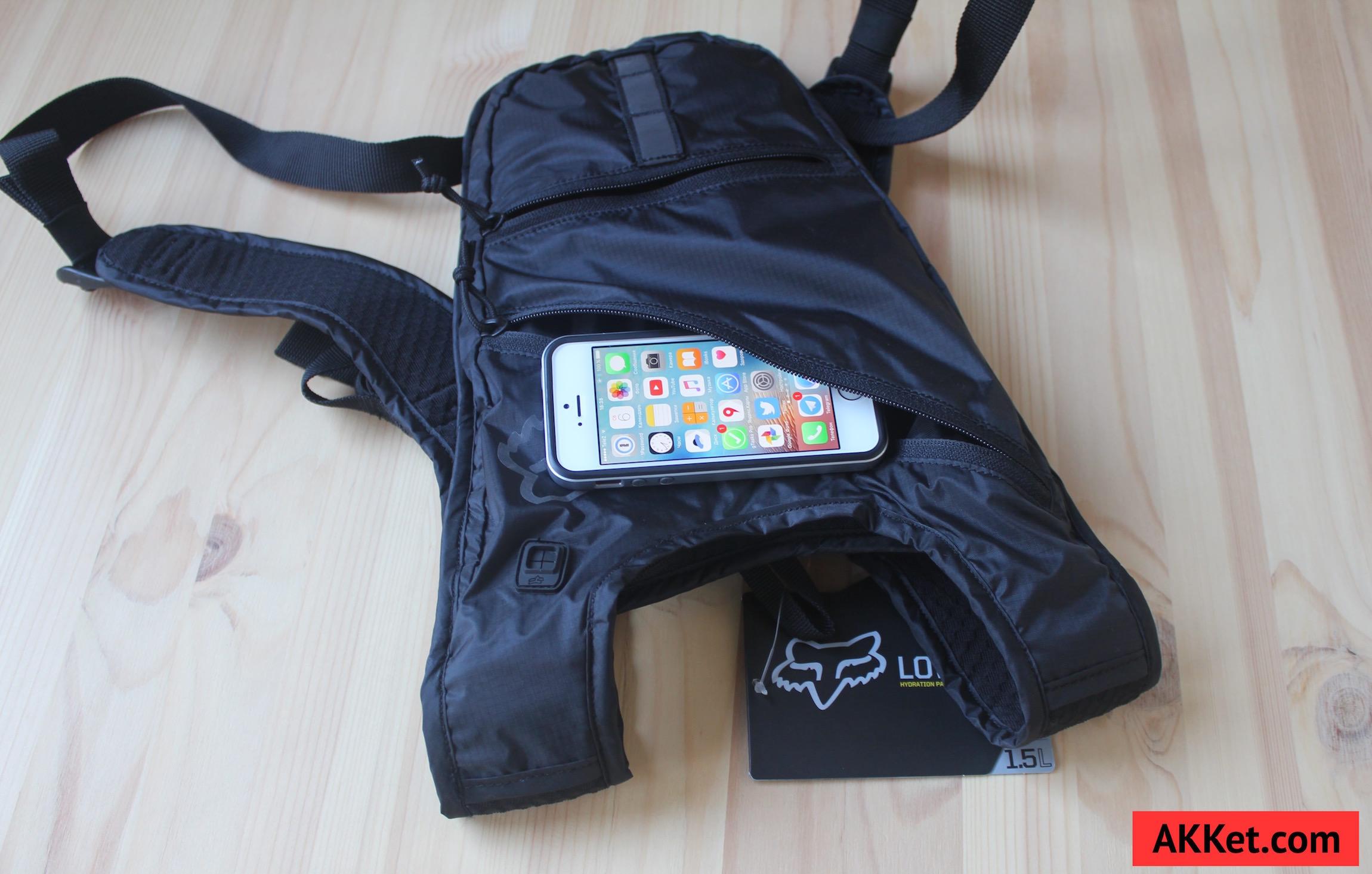 Fox Low Pro backpack iPad mini iPhone 6