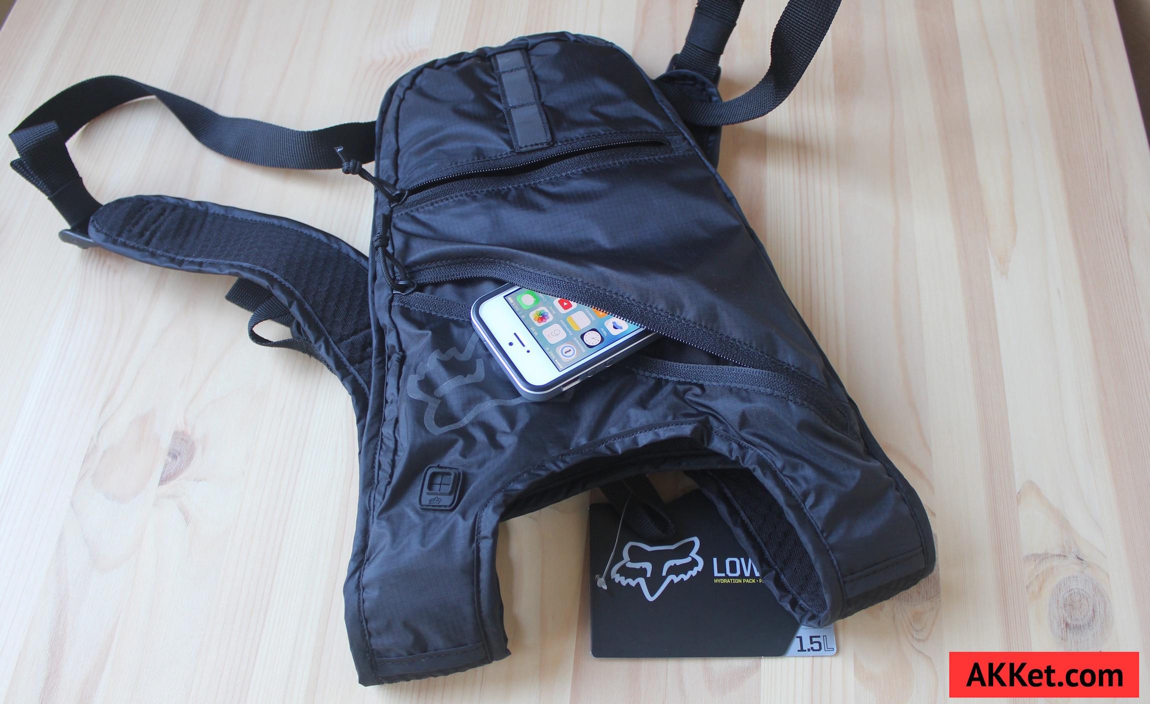 Fox Low Pro backpack iPad mini iPhone 7