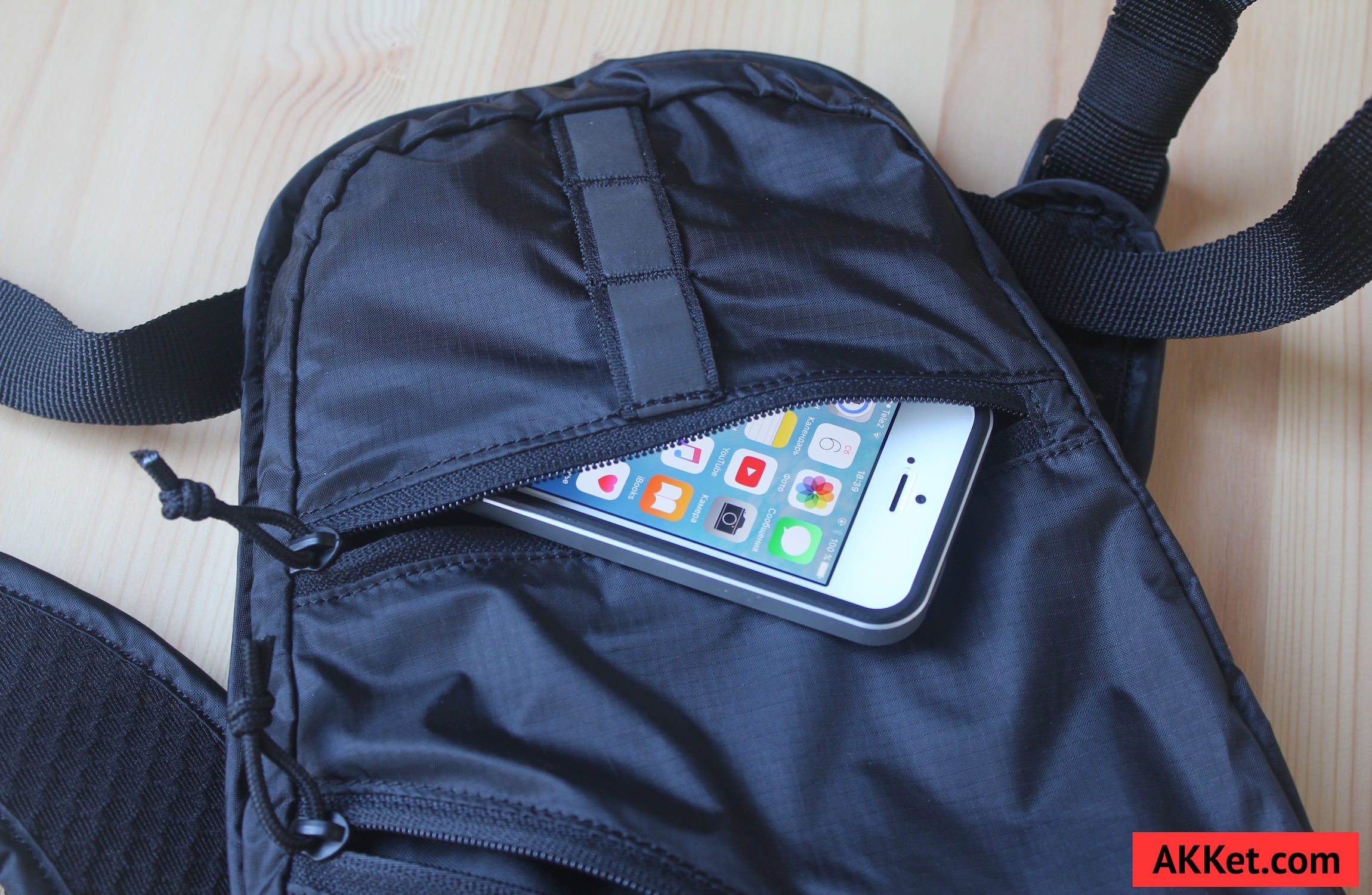 Fox Low Pro backpack iPad mini iPhone 8
