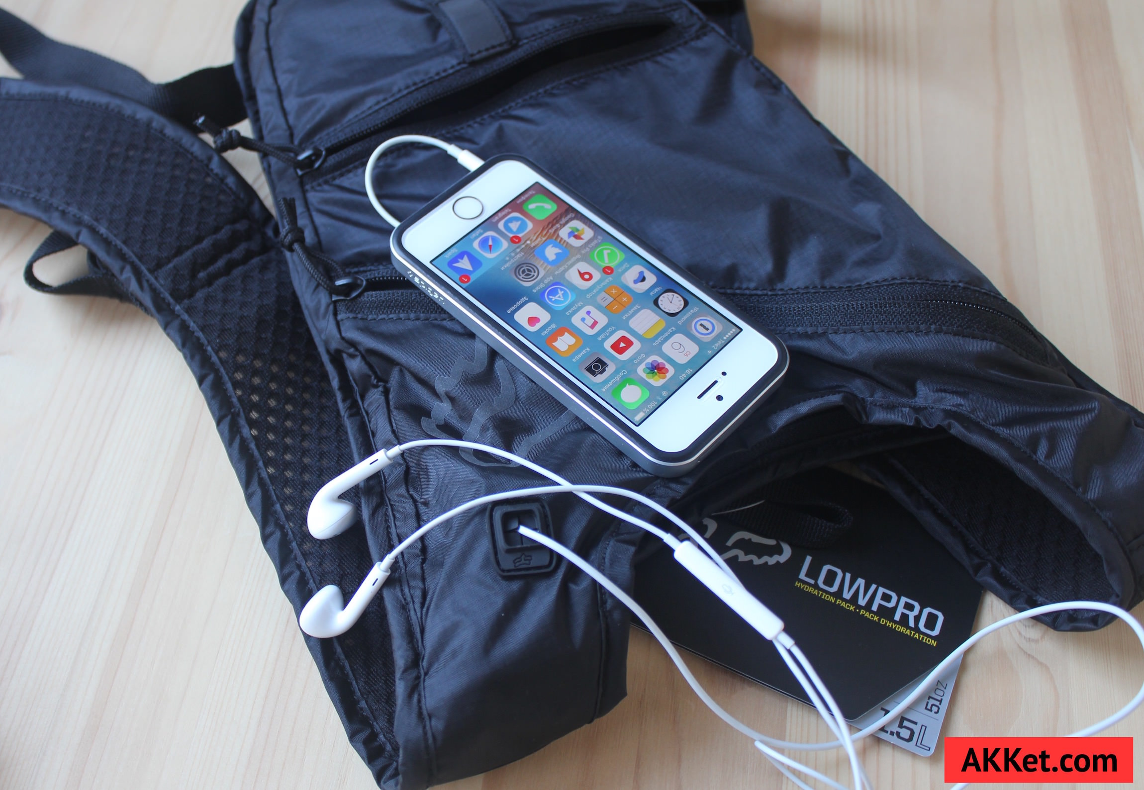 Fox Low Pro backpack iPad mini iPhone 9