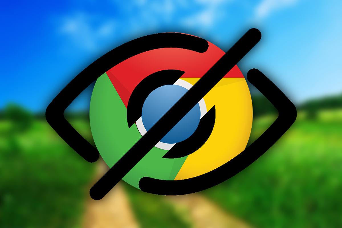Google Chrome Hide plugins 0