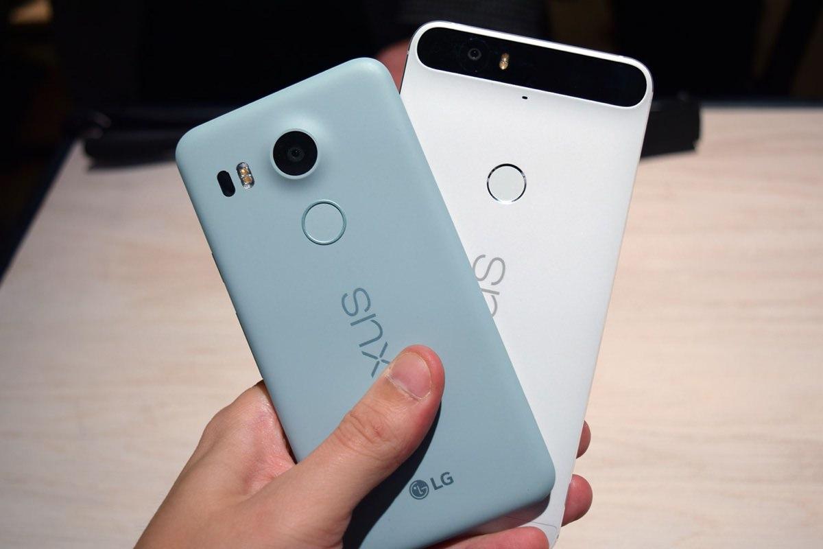 Google Nexus 5X Nexus 6P 3