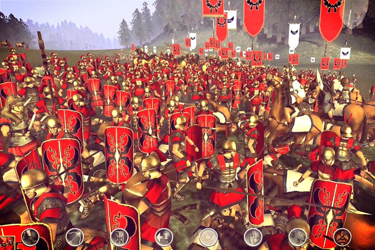 Rome Total War ipad 4