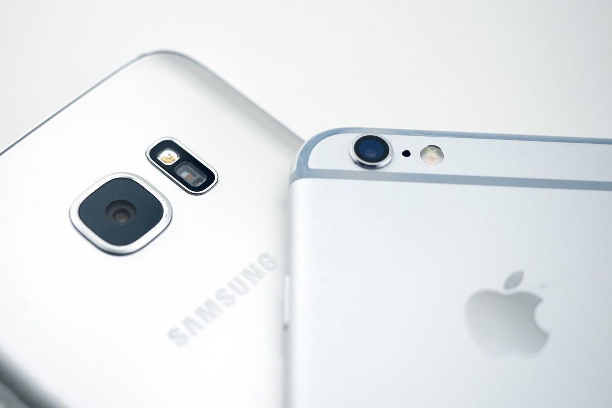 Samsung Galaxy S7 Apple
