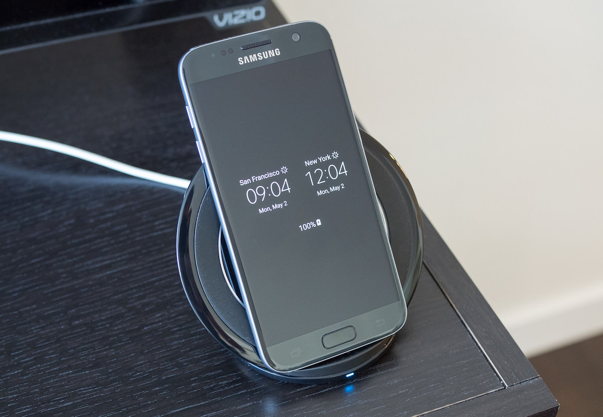 Samsung Wireless Charge Fast iPhone 7 Galaxy Note 7 8