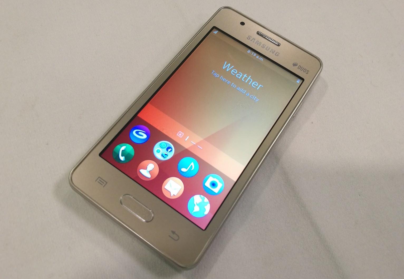 Samsung Z2 Tizen OS 2