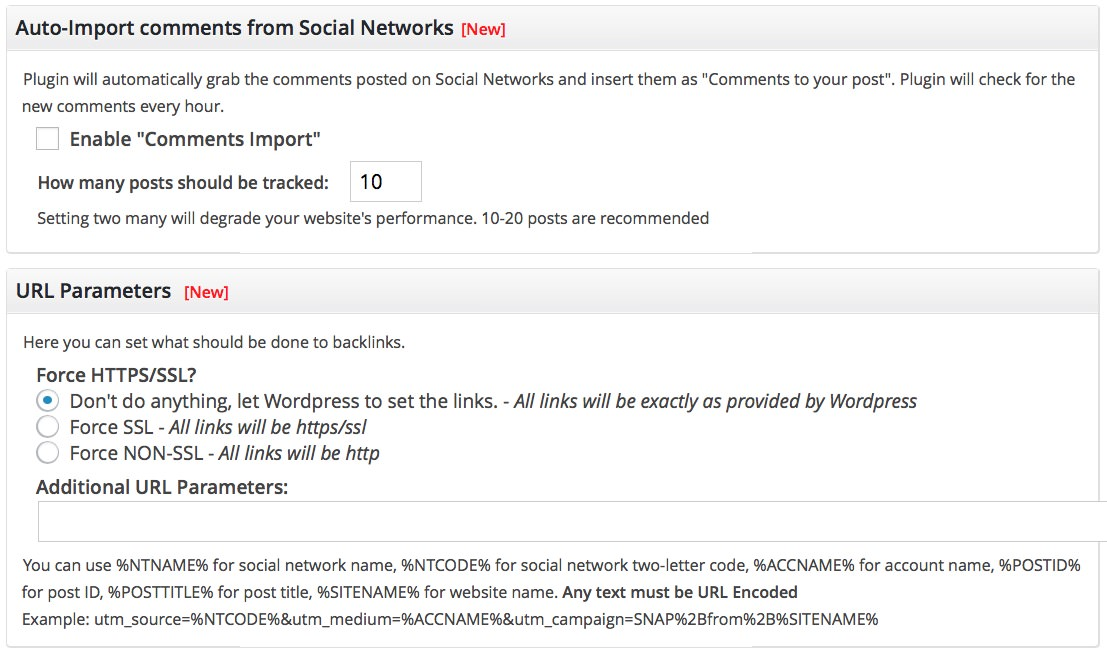 Social Networks Auto Poster (SNAP) download plugin wordpress Pro 0 8