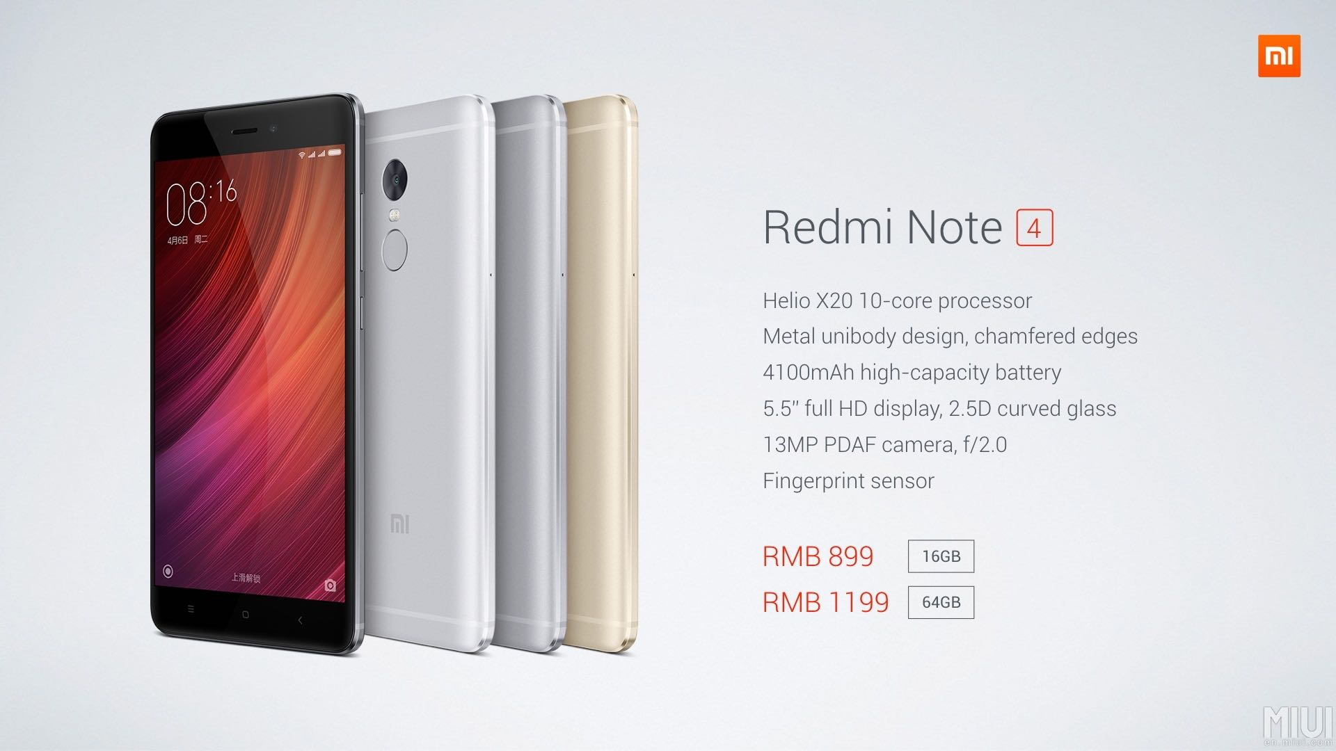 Xiaomi Redmi Note 4 4