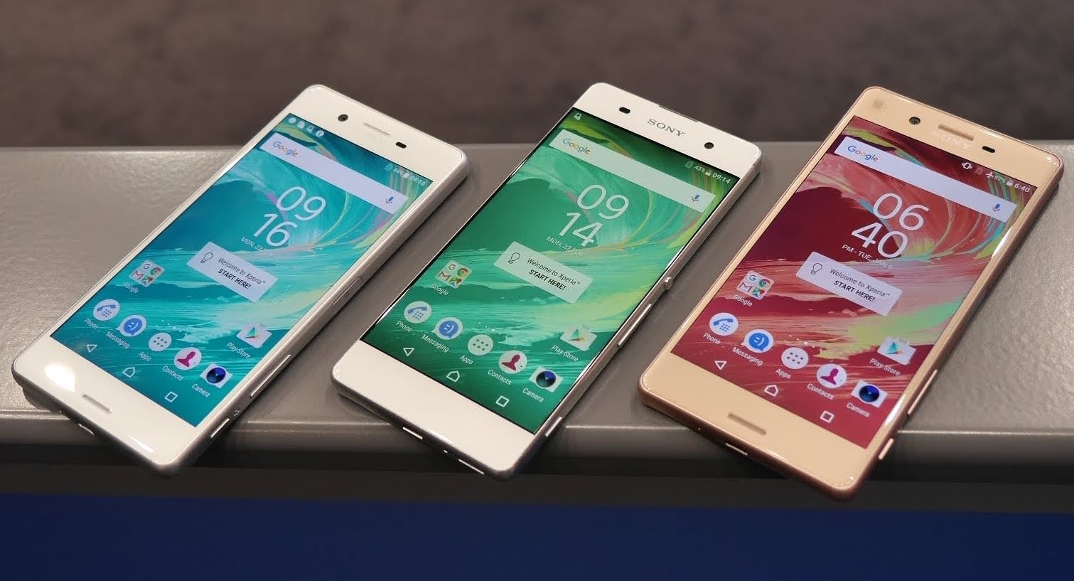Xperia X Performance Android 7.0 Nougat 2