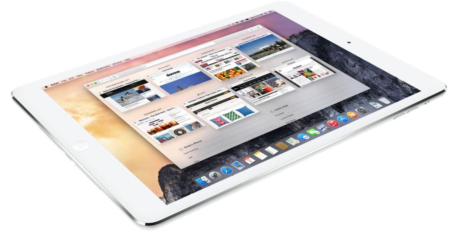 macOS iPad 2