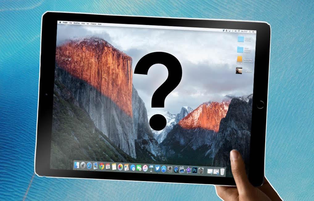 macOS iPad Install OS X Sierra сенсор 2