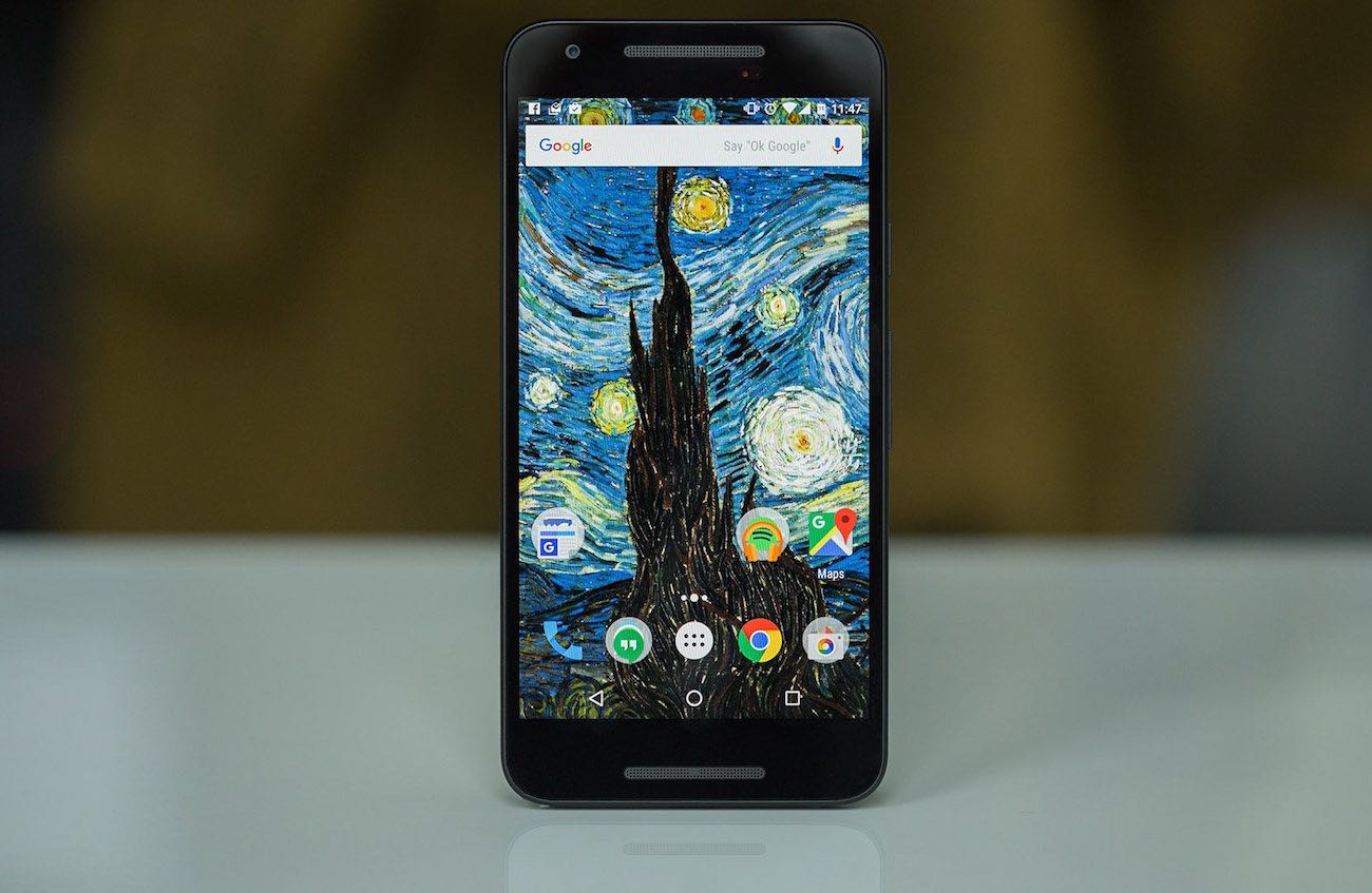 Android 7.0 Nougat Nexus 5X Google