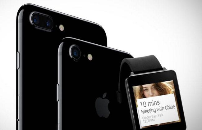 Android Wear iPhone 7
