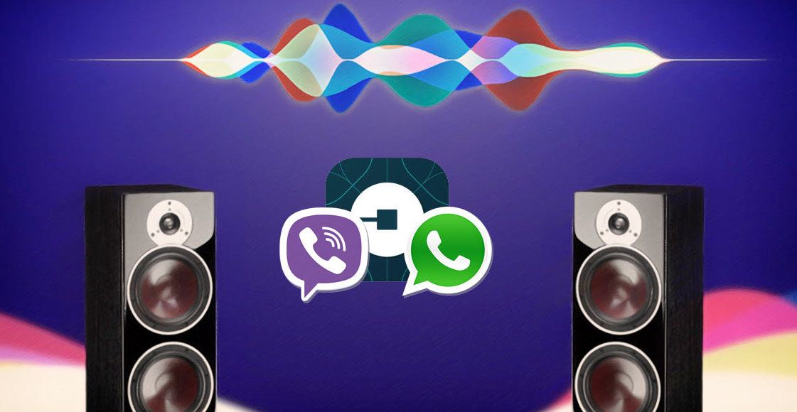 Apple Siri iOS 10 WhatsApp Viber 3