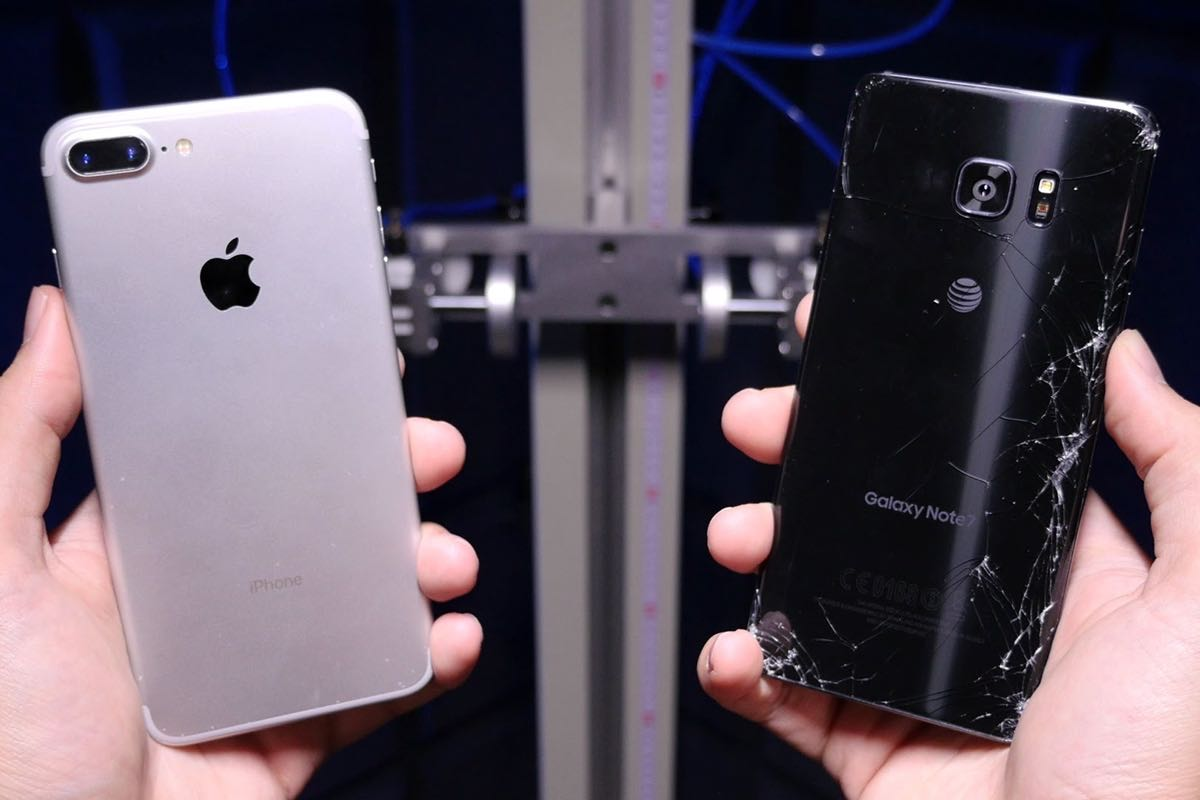 Apple iPhone 7 Plus Samsung Galaxy Note 7 Review