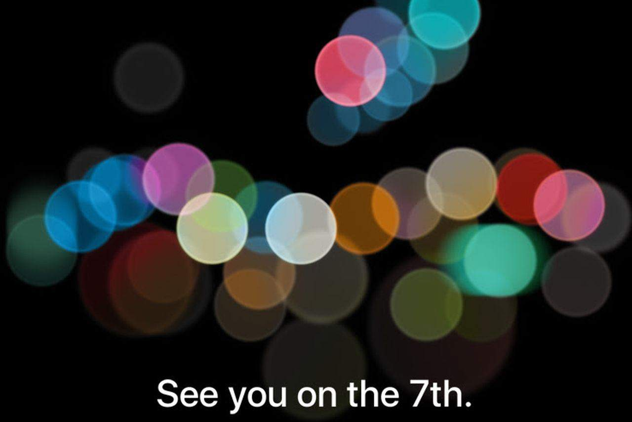 Apple iPhone 7 event