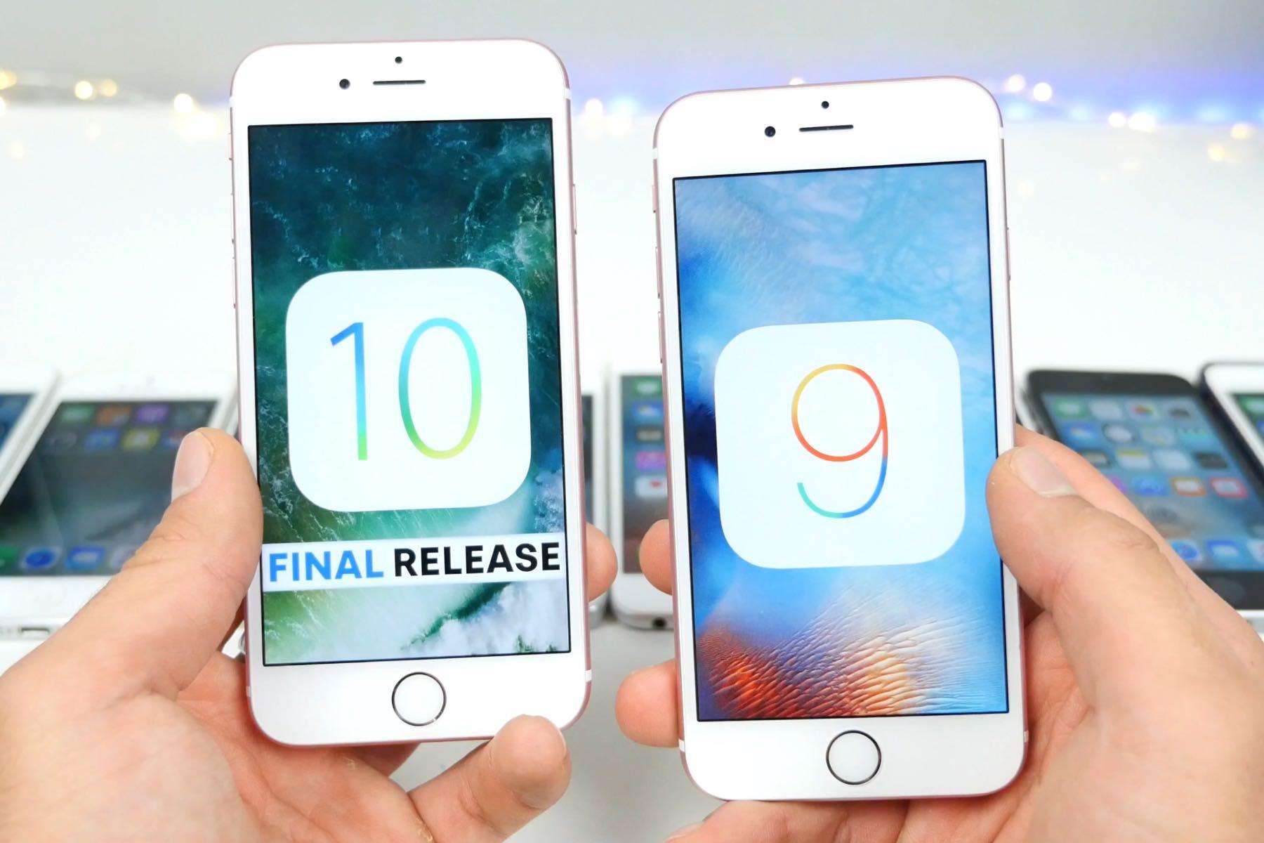Apple iPhone iOS 10 Final iOS 9.3.5 2
