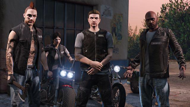GTA V Online Update Biker 3