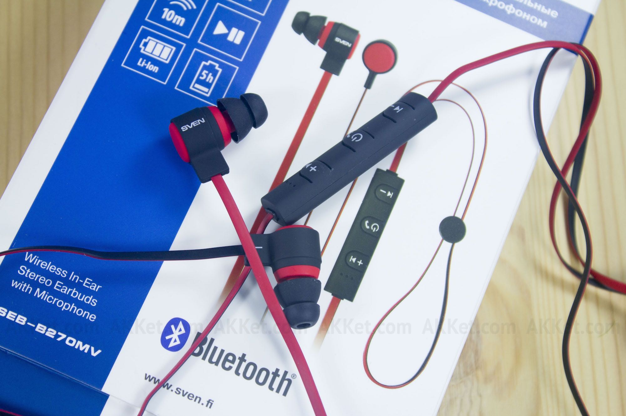 SVEN SEB-B270MV review russia bluetooth headphones 25