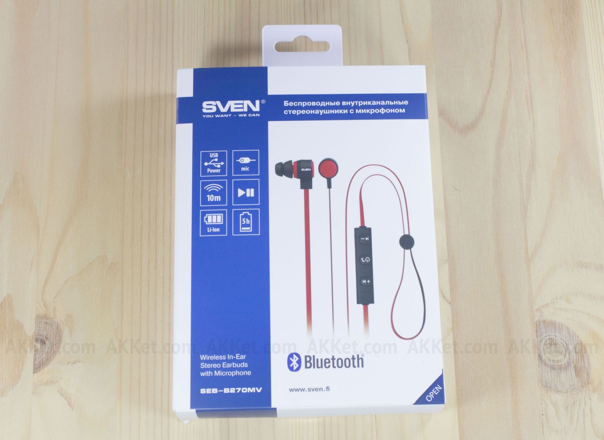 SVEN SEB-B270MV review russia bluetooth headphones 3