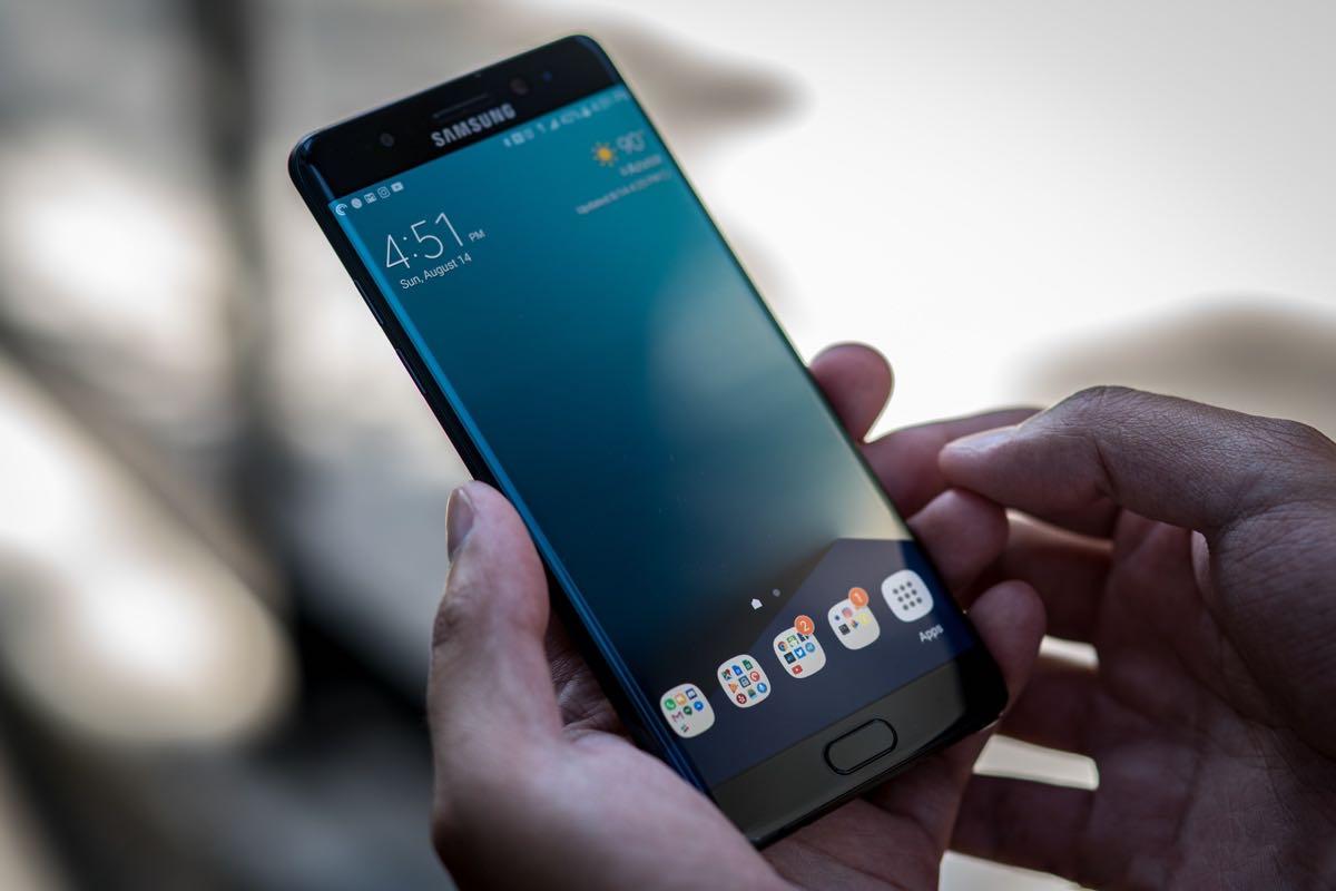 Samsung Galaxy Note 7 Fire Burn