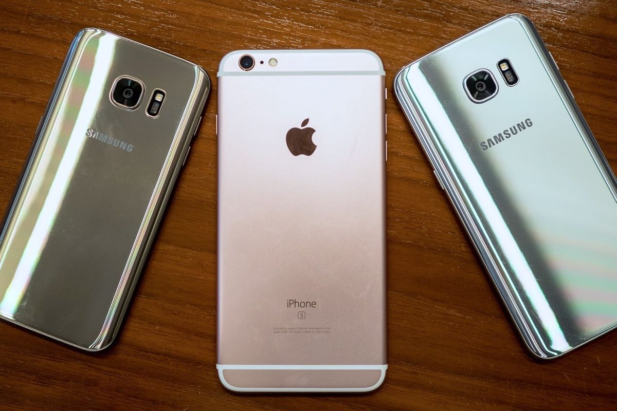 Samsung Galaxy Note 7 iPhone 6s Russia