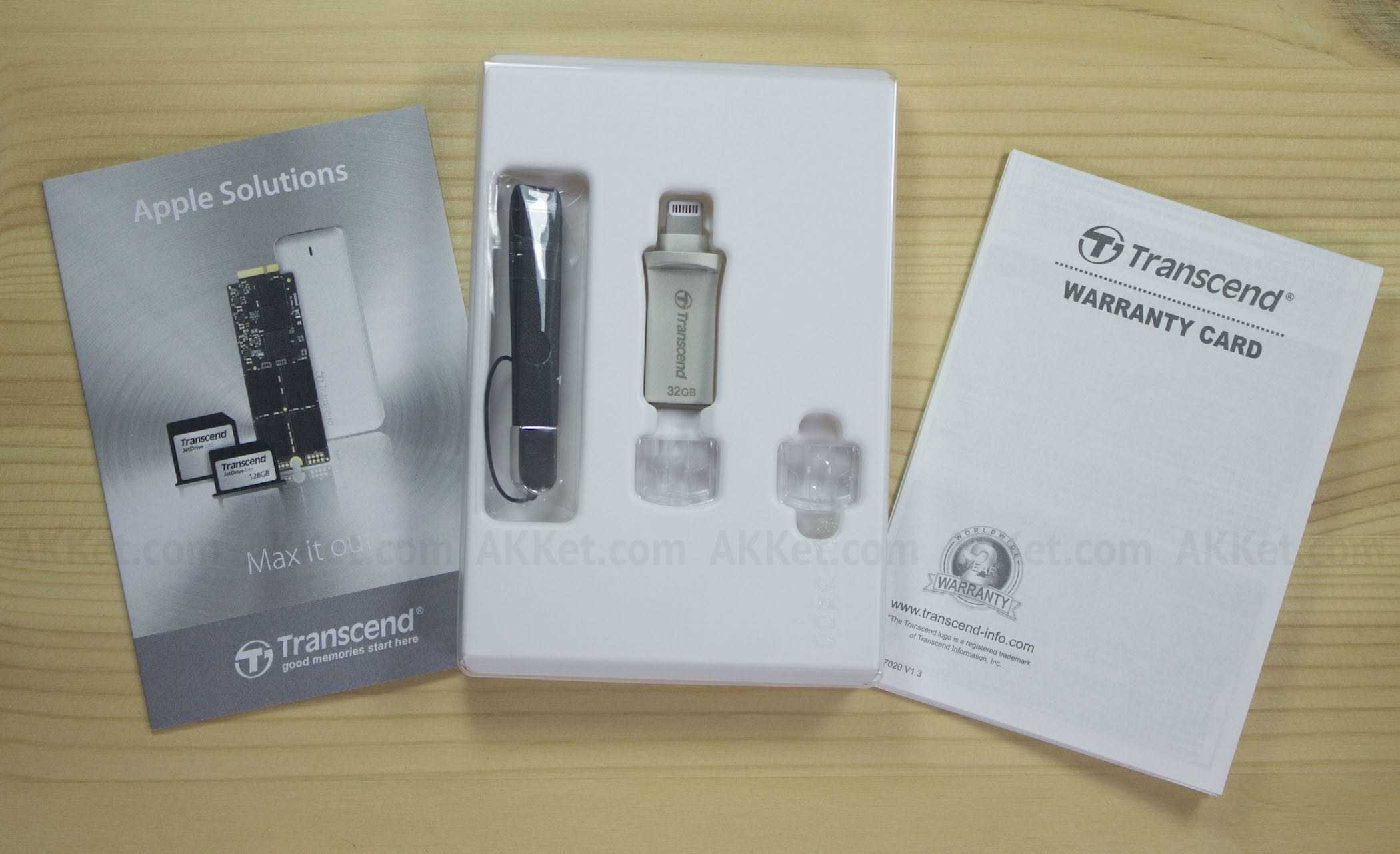 Transcend JetDrive Go 500S iPhone iPad iPod Touch Drive Flash Review 9