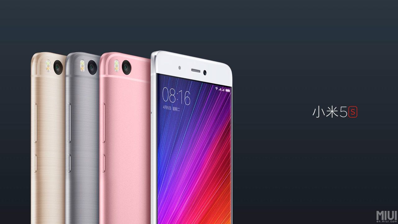 Xiaomi Mi5S Apple iPhone 7 2