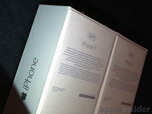 iPhone 7 Box Russia 256 Gb 2