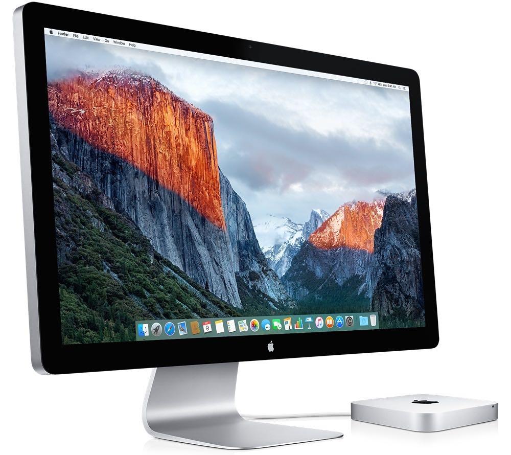 Apple Thunderbolt Display.