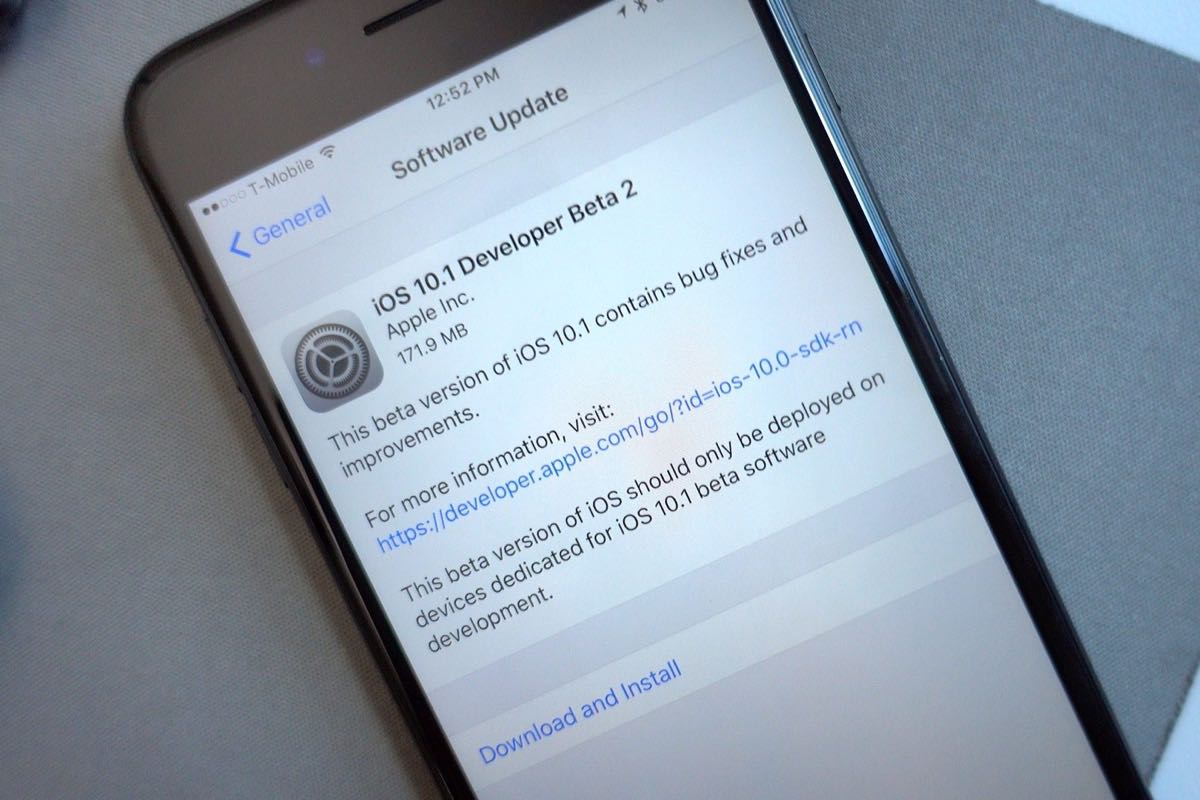 Apple iOS 10 iOS 10.1 download final