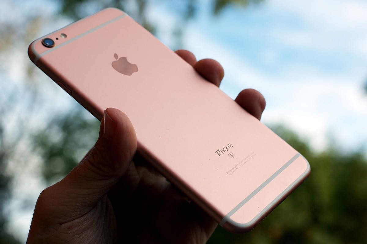 Apple iPhone 6s Buy Shop Rose Gold 2