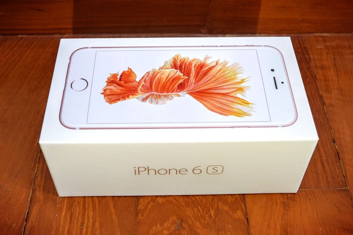 Apple iPhone 6s Plus Rose Gold 3