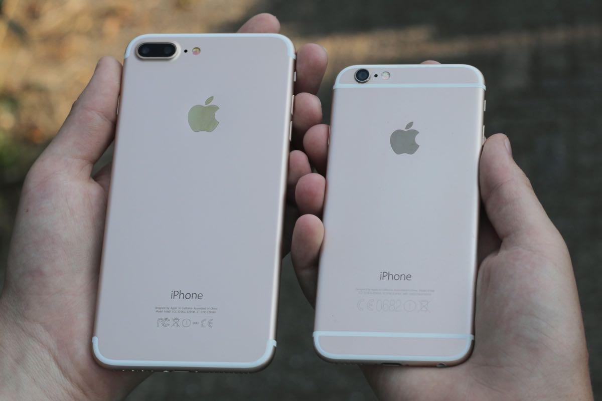 Apple iPhone 6s Plus iPhone 7 Plus