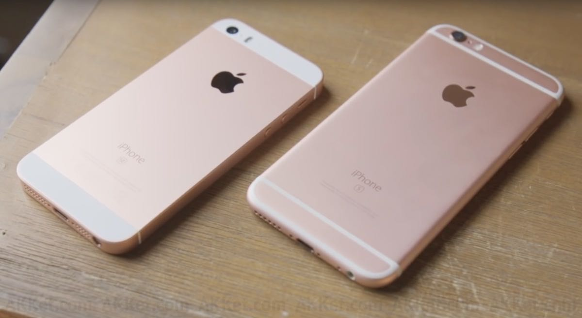 Apple iPhone SE iPhone 6s iPhone 7 Review 3